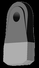 3-D модель биметаллического изделия