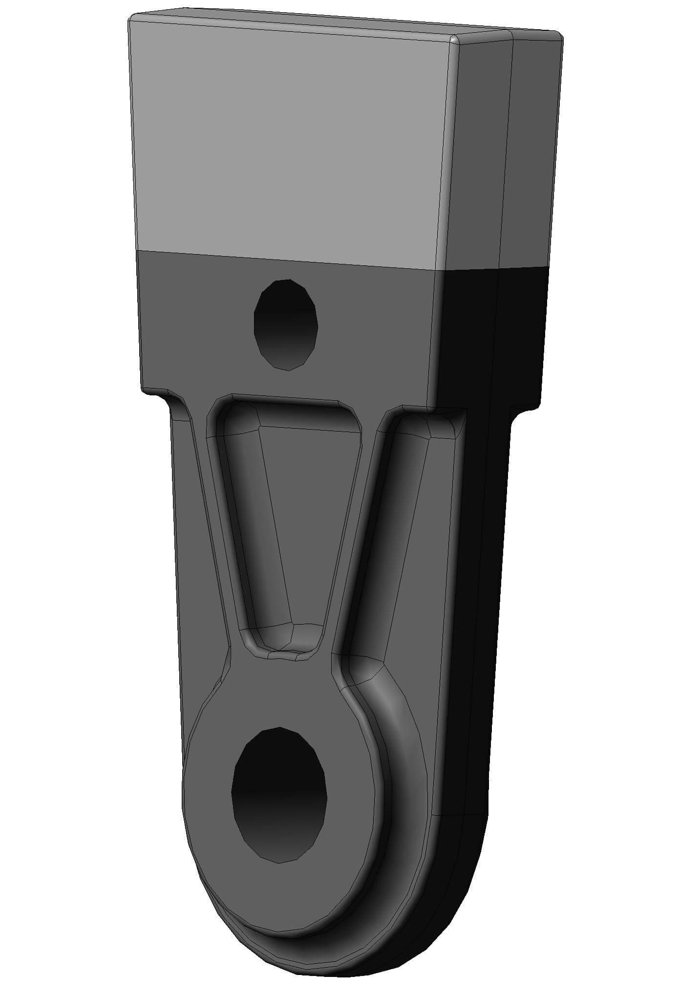 Молоток для дробления железной руды 57,4 Дробилка ДМ 17х14,5