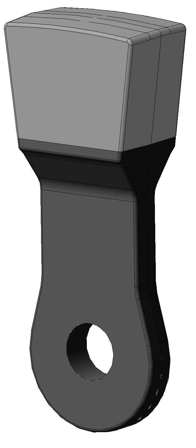 Молоток для дробления железной руды 17,5 Дробилка ДМРиЭ 14,5х13