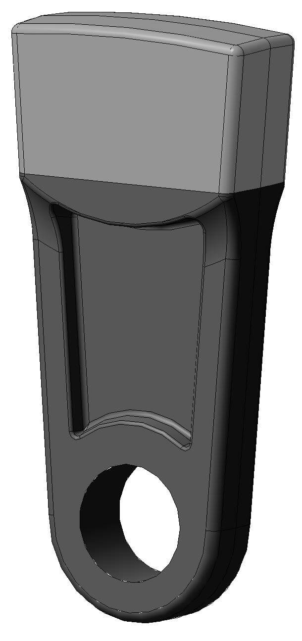 Молоток для сырьевой дробилки 11,7 Дробилка СМ-170