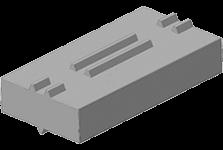 Симметричное било из моносплава для импортного оборудования