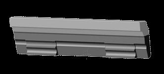 Биметаллическое било для СМД-85