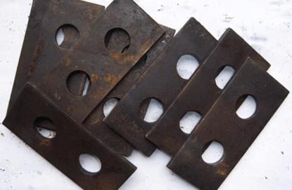 Дробящие пластины для кормовых дробилок