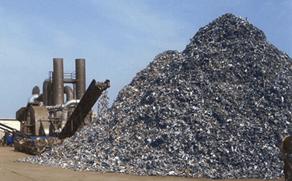 Чистый измельченный черный металл