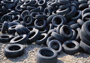 Отработавшие шины
