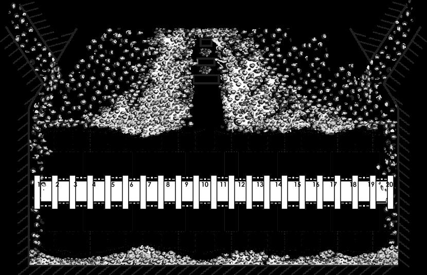 Пример неравномерного поступления угля в помольную камеру ММТ