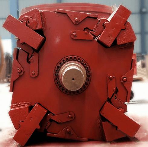 Внешний вид системы крепления импортных бил на роторе